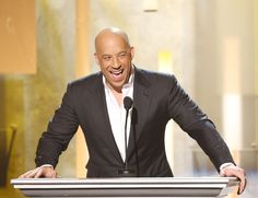 Vin Diesel - Mark Sinclair Vincent Vin was the short version of his last name and he acquired the last name from his friends who thought he ran on diesel, because he had so much energy.