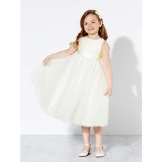 BuyJohn Lewis Girls' Holly Bridesmaid Dress, Ivory, 2 years Online at johnlewis.com