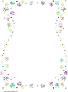 BORDERS FOR KID: Caratula de Colores