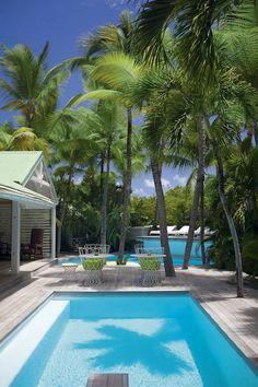 Villa La Banane in the Carribean