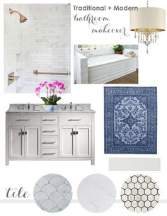 This is a sponsored conversation written by me on behalf of Floor & Decor. The opinions and text are all mine. Friends, I am so beyond excited and elated to finally reveal my master bathroom renovation with you! For the last, roughly, two months, I have put every extra moment of my time and 110% of my energy into renovating this space. When we moved in, it was a very small bathroom that was separated by a wall to our, also small, walk-in closet. The previous space didn't make the best use...