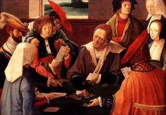 Lucas van Leyden - Los jugadores de cartas