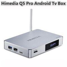 199.00$  Buy here  - New HIMEDIA Q5 Pro, Smart Home TV Network player, Android 5.1, Hi3798CV200, Mail-T720, 2GB RAM,8GB Flash, 4K HDR DTS HDMI TV-BOX