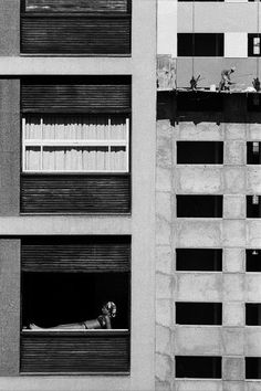 Cristiano Mascaro - Foto de um garota na janela