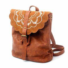 I am so happy to find the Fresco marrón Gente Bordado Cuero Mochila from ByGoods.com. I like it <3!Do you like it,too?