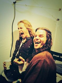 Sebastian Roche - Twitter | Some old photos of ep.1 of The Originals that'll make you laugh, rock stars @JosephMorgan @danieljgillies pic.twitter.com/6ILxafBaZf