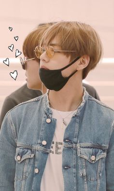 This is a cute edit. I love denim jackets and this one looks great on Tae