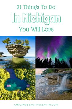 21 Things To Do In Michigan You Will Love - The Amazing Beautiful Earth<br> Vacation Places, Vacation Spots, Places To Travel, Places To Go, Travel Destinations, Italy Vacation, Vacation Ideas, Michigan Vacations, Michigan Travel