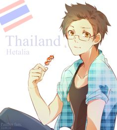 Hetalia Thai by Panther-fam