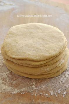 daktyle w czekoladzie: Rogaliki listkowe Food Cakes, Apple Pie, Cake Recipes, Food And Drink, Bread, Cookies, Baking, Breakfast, Ethnic Recipes