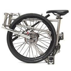 Worlds lightest foldable bike