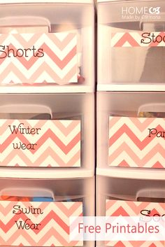 Clever Closet Storage and Organization Ideas - Garden Decorations Trend Organizing Labels, Organization Hacks, Organization Ideas, Organising, Storage Ideas, Medicine Organization, Creative Storage, Organizing Tips, Cleaning Tips