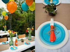 Simple and Cute Outside Party