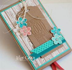 Stampin' Cards And Memories, Slider Card