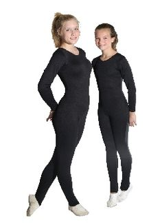 Child Long Sleeve Scoop Neck Unitard, 25