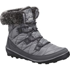 Women`s Columbia Heavenly Shorty Omni-Heat Print Snow Boots Olive Size 9 Mint! Columbia Boots, Columbia Sportswear, Insulated Boots, Waterproof Winter Boots, Shorty, Snow Boots Women, Faux Fur Collar, Best Brand