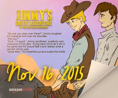 New gay series! Nov 16, 2015 http://periewolford.com/books/jimmy-s-erotic-adventures/jimmy-gay-book-ep1-series #GAY #Kindle #GayRomance #GayErotica #SciFi #GraphicNovel #MM