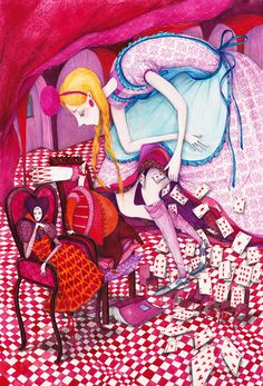 Alice in Wonderland by Madalina Andronic (trial, King and Queen of Hearts)