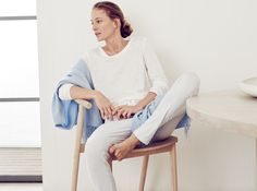 Lounging takes a lighter turn with a nod to spring and the warmer months to…