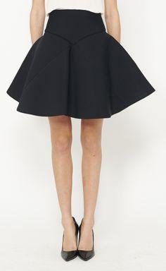 Astier Black Skirt