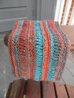 The beauty of the drop stitch cowl