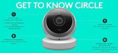 Logi Circle - the home connection camera  , - ,   Logi Circle, a p...