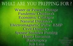 What Supplies Do You Think Will Disappear In A Disaster ? » The Homestead Survival