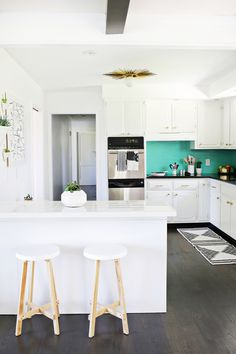 Laura's Kitchen (Before + After!)