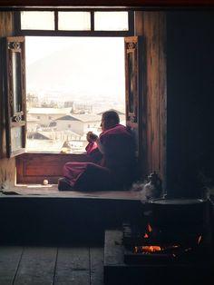 Taken at the Ganden Sumtseling Monastery, Yunnan province,  China.