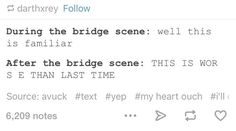 "And summed up the bridge scene, too. | 26 Tumblr Posts About ""Star Wars"" Guaranteed To Make You Laugh"
