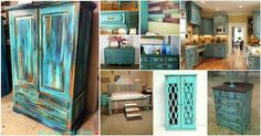 30 Chic Teal DIY Decor Ideas To Bring This Year's Trendiest Color . Home Decor teal home decor Teal Furniture, Furniture Projects, Furniture Makeover, Painted Furniture, Painted Chairs, Furniture Refinishing, Refurbished Furniture, Bedroom Furniture, Teal Home Decor