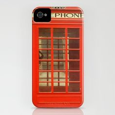 iPhone case  - Red Telephone Box