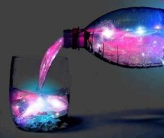Have a glass of night sky