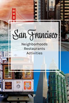 San Francisco Guide to great neighborhoods, delicious things to eat and activities to make you fall in love with the city by the bay. Things to do in San Francisco. San Francisco restaurants.