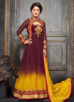 14 Best Hina Khan Dresses Images Anarkali Suits Designer Salwar