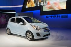 Chevrolet announced pricing for its 2014 Spark EV electric car today at $27,495, reducible to below $20,000 after applying federal tax credits. Read this article by Wayne Cunningham on CNET. via @CNET