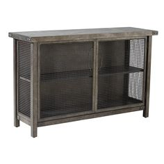 Would prefer with wood top, Ink + Ivy Cody Sideboard Console