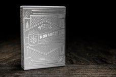 Silver Monarch Playing Cards - theory11.com