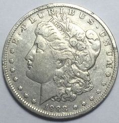 90% Silver 1888-O Morgan Silver Dollar. Take a LOOK!