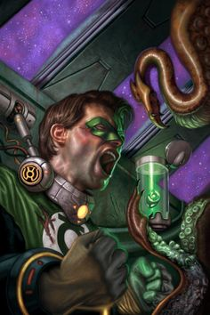 Green Lantern (Hal Jordan) by Erik Wilkerson
