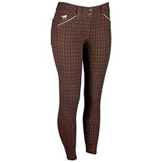 Piper Plaid Full Seat Breeches by SmartPak $89.95