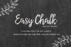 Easy Chalk Effect Styles by  @Graphicsauthor