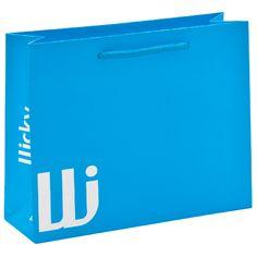 in blau als farbiger Eye-Catcher auf Messen Catcher, Eye, Logos, Tote Bag, Logo