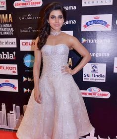 Samantha Ruth Prabhu at SIIMA 2016 in Singapore. #Tollywood #Fashion #Style #Beauty #Hot #Sexy #Kollywood
