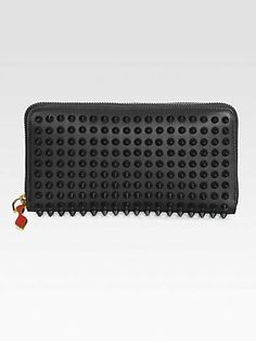 Christian Louboutin Panettone Studded Continental Wallet on shopstyle.com