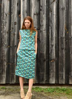 Empire Waist Dress with Rayon (Made from the Burda Style Empire Waist Pattern)