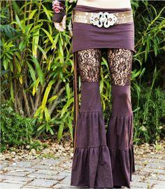 Pants lace