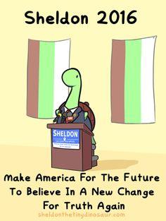 i WILL vote for sheldon!