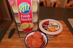 YPTU Crock Kielbasa and Ritz Pizzas 004