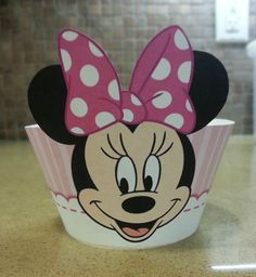 Minnie Mouse Cupcake Wrappers, Cupcake Liners, Cupcake Supplies, Party Supplies